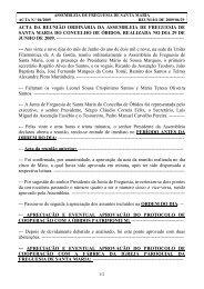 Assembleia de Freguesia de 29 de Junho de - Santa Maria de Óbidos