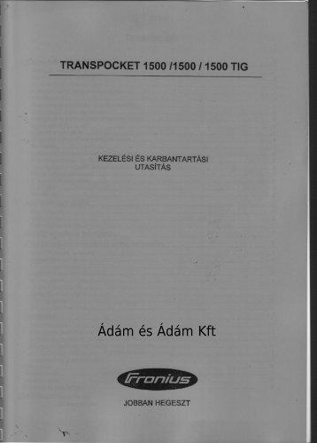 Letölthető gépkönyv! 12.7Mb - PDF