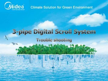 Midea Inverter Smart-trouble shooting - VB Klimaattechniek