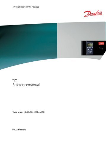 TLX - Referencemanual - Danfoss