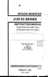 J100 inverter manual - Power Drive Services
