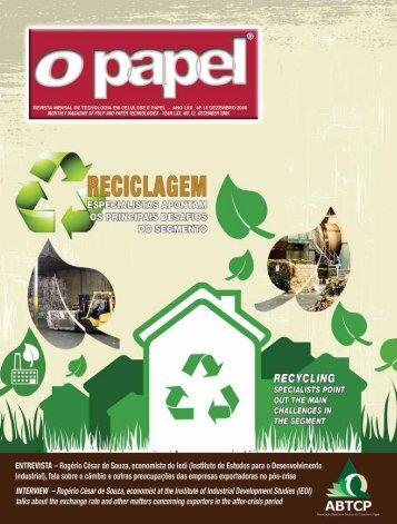 Um 2010 melhor - Revista O Papel