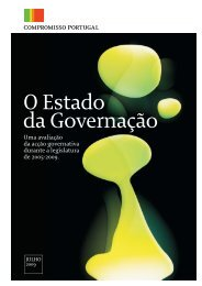 O Estado da Governação 2009 - Compromisso Portugal