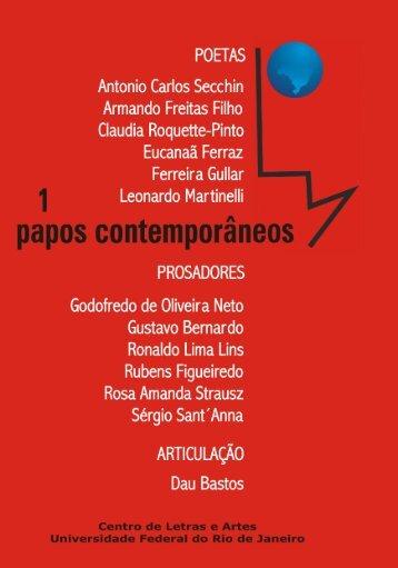 Antonio Carlos Secchin - Forum de Literatura - UFRJ