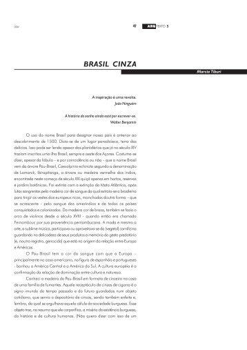 BRASIL CINZA Marcia Tiburi - Ufrgs
