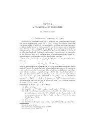 O conceito da transformada de Fourier, nomeada em ho - Impa