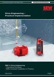 EMC in Drive Engineering - SEW Eurodrive