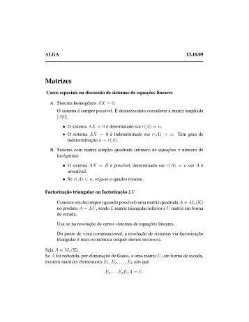 Matrizes