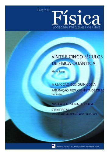 VINTE E CINCO SÉCULOS DE FÍSICA QUÂNTICA - Nautilus