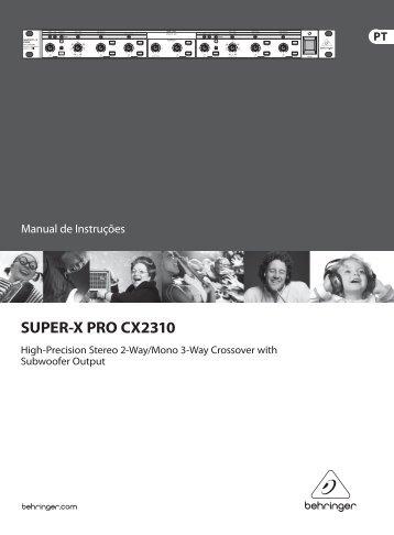 SUPER-X PRO CX2310 - Behringer