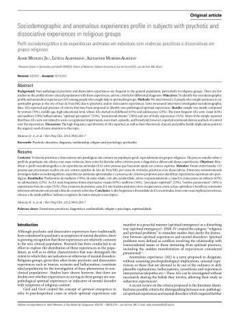 Schizophrenia research paper thesis