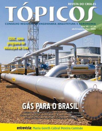 GÁS PARA O BRASIL - Crea-ES