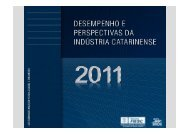 Desempenho e Perspectivas da Indústria Catarinense - Fiesc