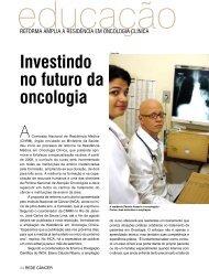 investindo no futuro da oncologia - Instituto Nacional de Câncer