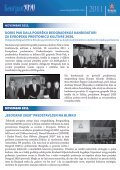 newsletter novembar 2011 - Beograd 2020 - Page 5
