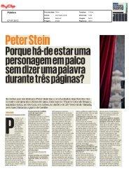 PeterStein - Companhia de Teatro de Almada