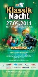 Britische Klänge« - Zoo Rostock