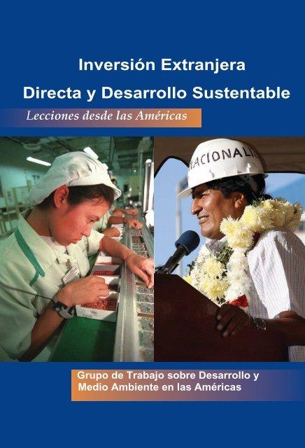 Inversión Extranjera Directa y Desarrollo Sustentable - Tufts University