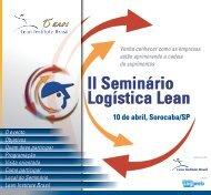 10 de abril, Sorocaba/SP - Lean Institute Brasil