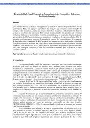 Responsabilidade Social Corporativa, Comportamento - Varejo ...