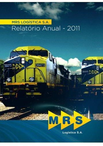 Relatório Anual 2011 v1 - MRS