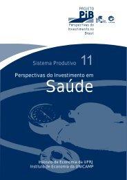 Sistema Produtivo Perspectivas do Investimento em - Instituto de ...