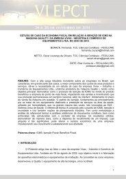 estudo de caso da economia fiscal em relação à isenção de icms na ...