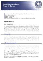 Análise Gerencial - Controladoria-Geral da União