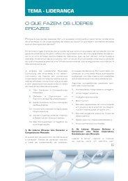 TEMA - lidErAnçA - Leadership Agenda
