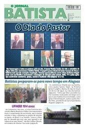 Batistas preparam-se para novo tempo em Alagoas - Convenção ...