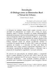 O Diálogo entre as Dimensões Real e Virtual do ... - mtc-m12:80 - Inpe