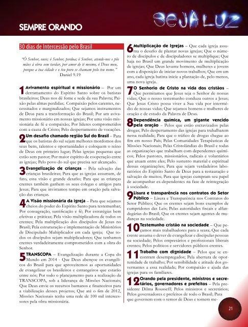 28etnias no Brasil - Missões Nacionais