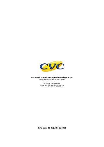 CVC Brasil Operadora e Agência de Viagens S.A. ... - CVM