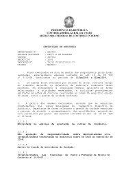 PRESIDÊNCIA DA REPÚBLICA CONTROLADORIA ... - Funasa