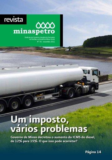 Um imposto, vários problemas - Minaspetro