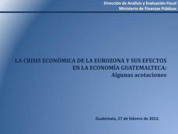 Presentación de PowerPoint - Ministerio de Finanzas Publicas