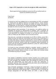 Itaipu e CCC impactaro na conta de energia em ... - Jerson Kelman