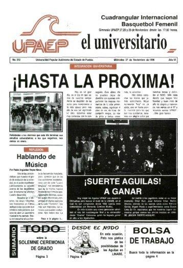 el universitario - Biblioteca - Universidad Popular Autónoma del ...