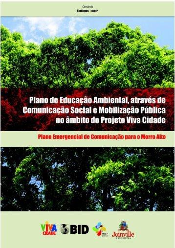 Plano de Educação Ambiental, através de Comunicação Social e ...