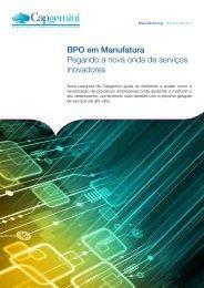 BPO em Manufatura Pegando a nova onda de serviços ... - Capgemini