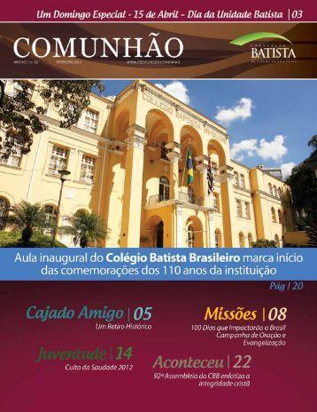 Março - Convenção Batista do Estado de São Paulo