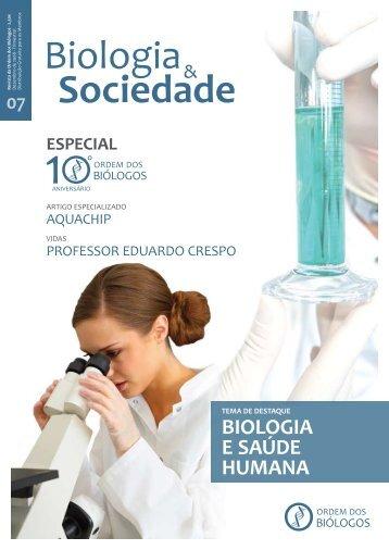 BIOLOGIA E SAÚDE HUMANA - Ordem dos Biólogos