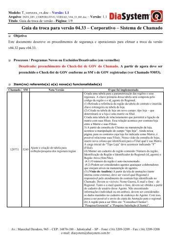 Documento Geral - Dia System