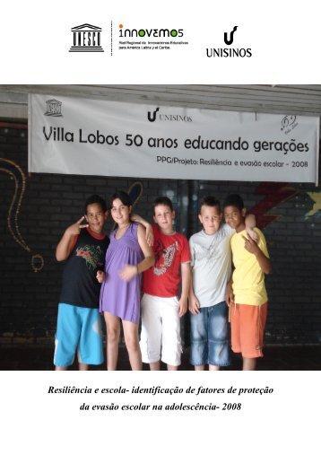 Resiliência e escola- identificação de fatores de proteção da evasão ...