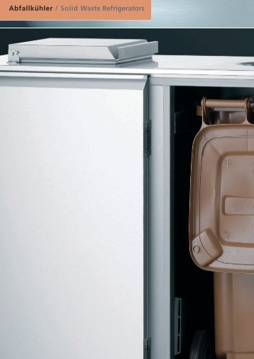 Abfallkühler / Solid Waste Refrigerators - wiba-ag.ch Home
