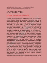 APUNTES DE PADEL - Alea Padel Club