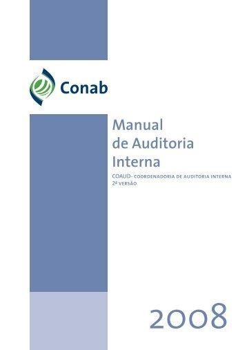 Manual de Auditoria Interna - Conab