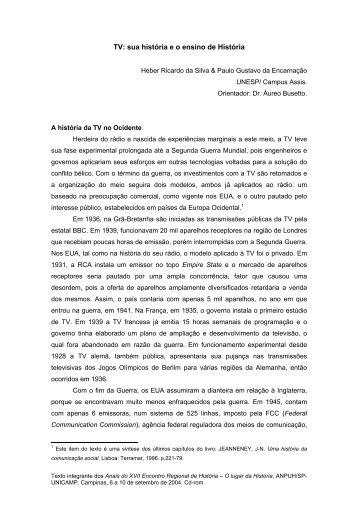 Heber Ricardo da Silva - ANPUH-SP