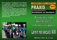 Socialismo ou Barbárie - Socialismo o Barbarie
