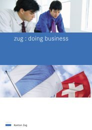 zug : doing business - Wagner & Partner AG.